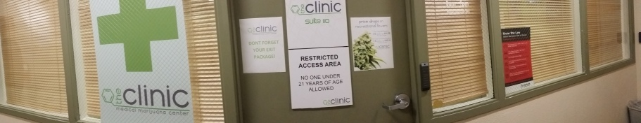 Poor pot shop in Denver, the clinic