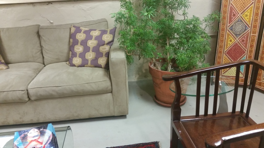 Waiting area marijuana dispensary