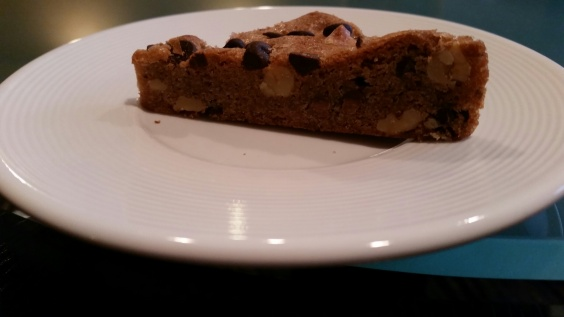 Chocolate Chip bar at Crowne Plaza