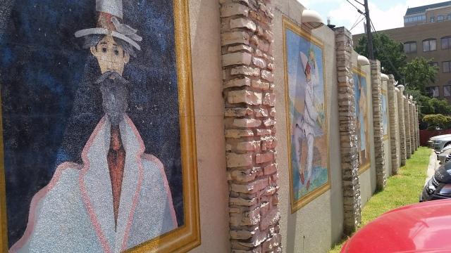 Man with beard wall art