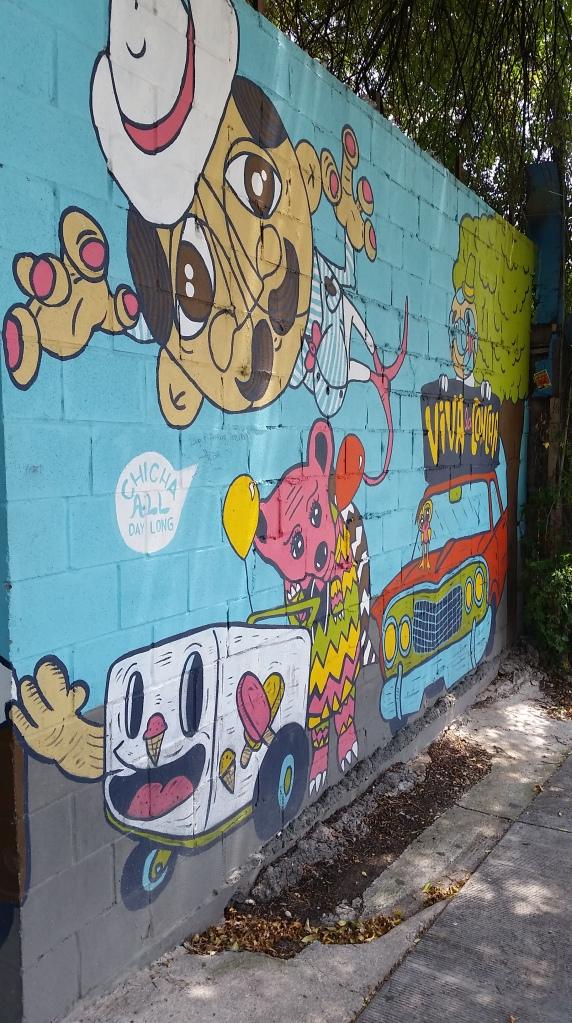 cartoon art, outdoor, travel, cannabis