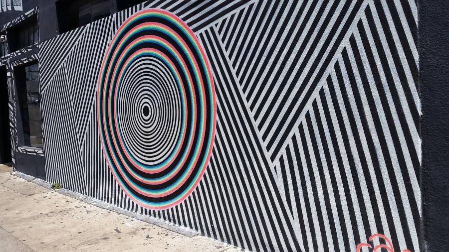 Downtown Austin, graffiti, art, cannabis