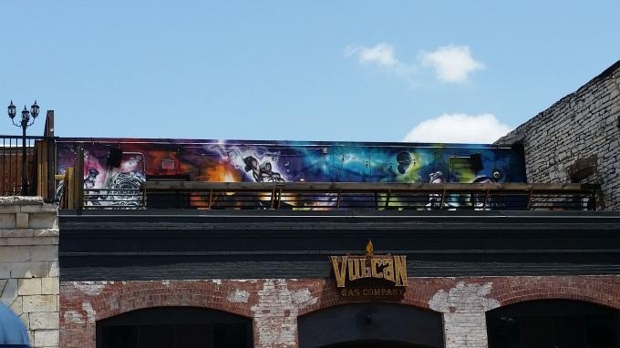 rooftop graffiti