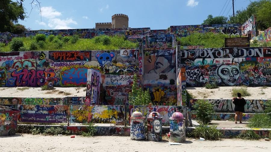 Graffiti park in Texas