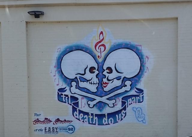 Goodwill wall art in Austin, Texas