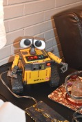 A very rare Wall-E enail. He even talked and moved his arms and eyes!