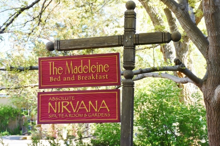 Cannabis tolerant BNB, Spa, Tea Room and Gardens in Santa Fe New Mexico