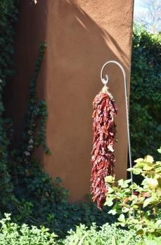 Chili ristras are the go-to decor in New Mexico.