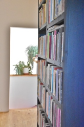 A mini library with everything there is you'd ever want to read.