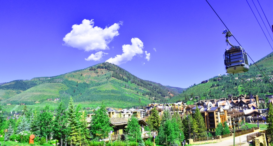 Skyline of Vail, Colorado