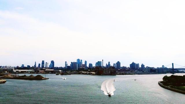New York City from Williamsburg bridge