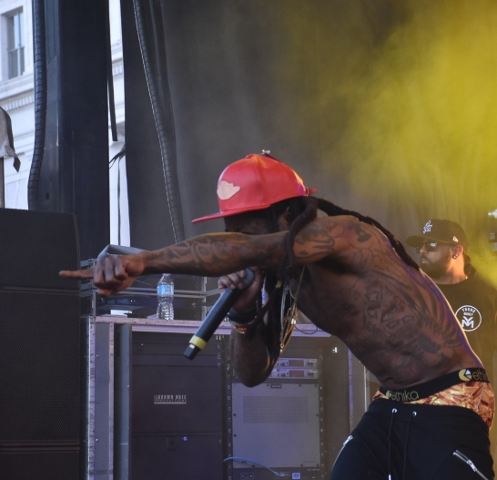 Lil Wayne at Massroots 420 celebration