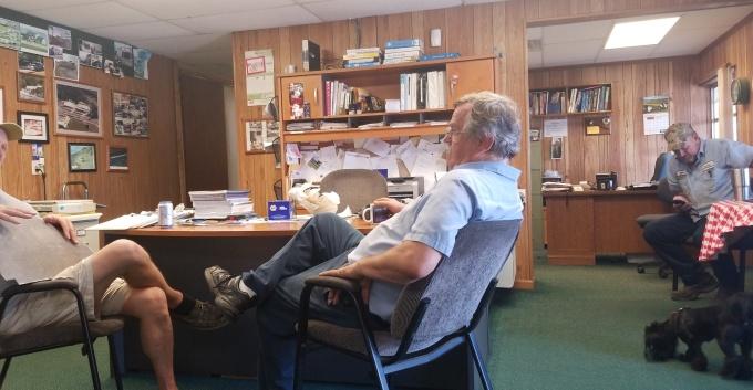 Office Bonding at the GMC RV Ranch