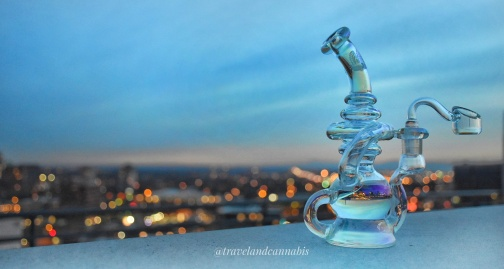 Chromatech Recycler from Illuminati Glass