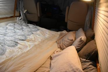 Cali King bed in GMC RV