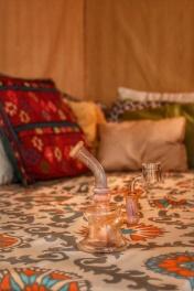 Dab rig at Taos Airbnb