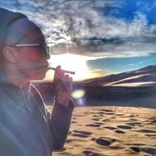 Ebbu Experience, Sand Dunes, vaping