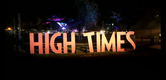 High Times sign 420