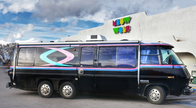 Meow Wolf and the vanabus