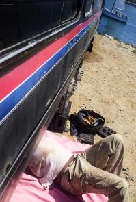 San Diego fuel line fix