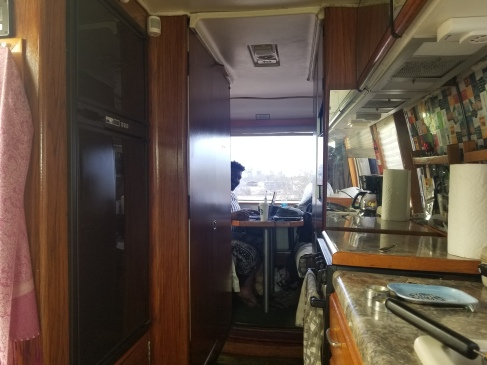 Working in the GMC RV